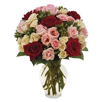 """With Love"" flower bouquet (BF242-11)"